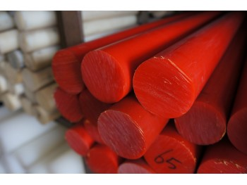 Red MC Nylon Rod